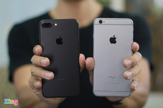 iPhone 7 plus so dang iPhone 6S Plus, anh 2