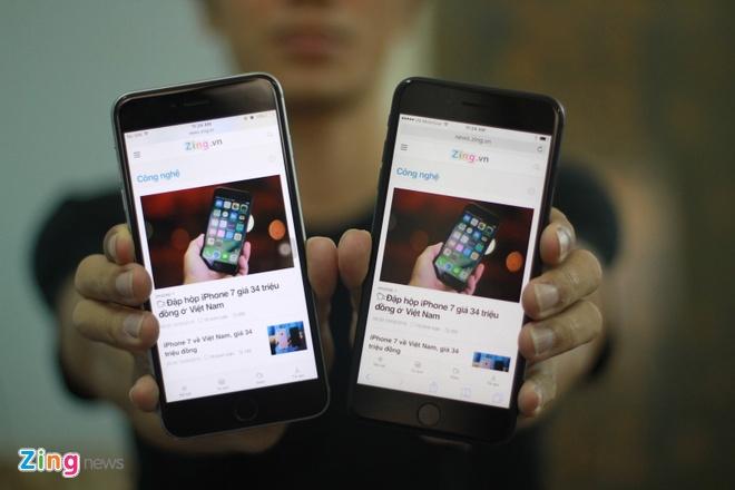 iPhone 7 plus so dang iPhone 6S Plus, anh 14
