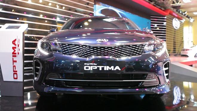 Video chi tiet Kia Optima - doi thu moi cua Toyota Camry hinh anh