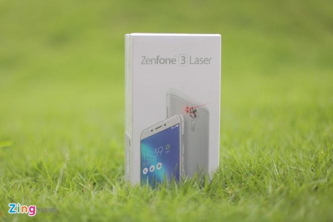 Asus Zenfone 3 Laser tai Viet Nam anh 1