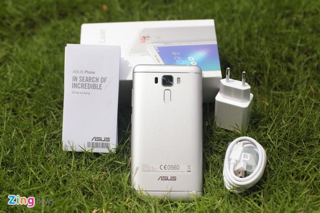 Asus Zenfone 3 Laser tai Viet Nam anh 2