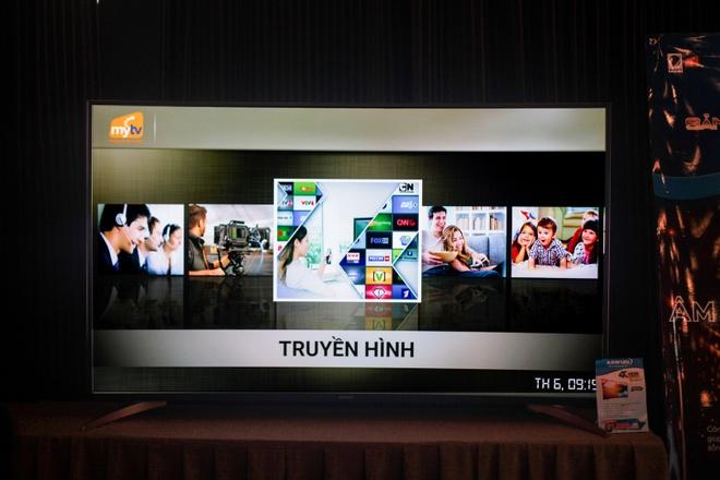 TV 4K man hinh cong made in Viet Nam ra mat, gia tu 22 trieu hinh anh