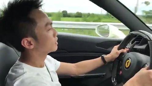 Cuong Do La lai Ferrari 488 GTB dan dau doan sieu xe hinh anh