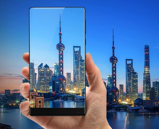 Thuc te smartphone khong vien Xiaomi Mi Mix hinh anh