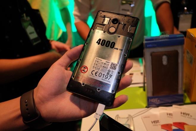 Infinix trinh lang smartphone gia re, cau hinh cao hinh anh 2