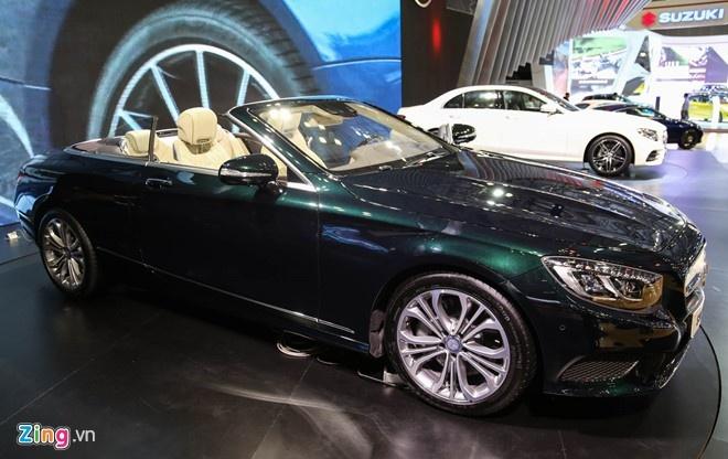 Video Mercedes S500 gia 10,8 ty tai Viet Nam hinh anh