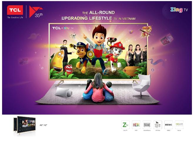 Smart TV TCL Z2 ra mat, anh 2