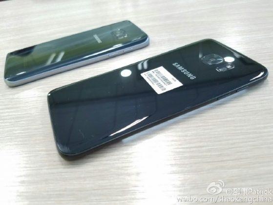 Ro ri hinh anh Galaxy S7 mau den bong hinh anh 1