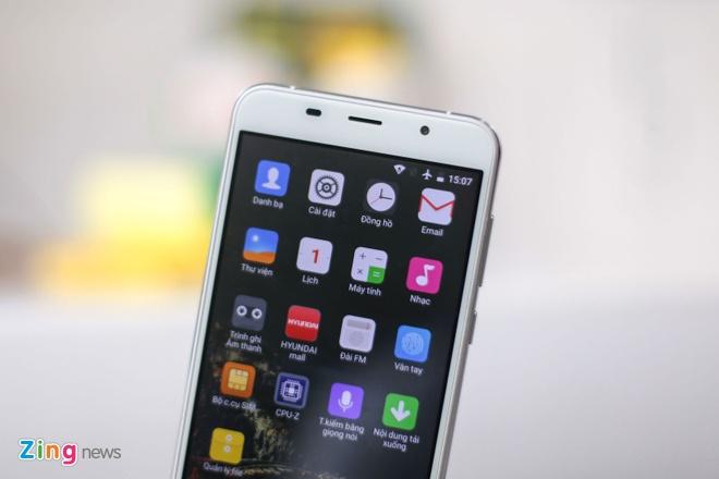 Anh smartphone dau tien cua Hyundai vua ve Viet Nam hinh anh 9