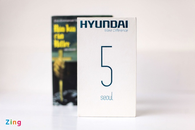 Anh smartphone dau tien cua Hyundai vua ve Viet Nam hinh anh 1