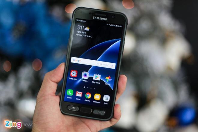 Anh Samsung Galaxy S7 Active sieu ben tai Viet Nam hinh anh