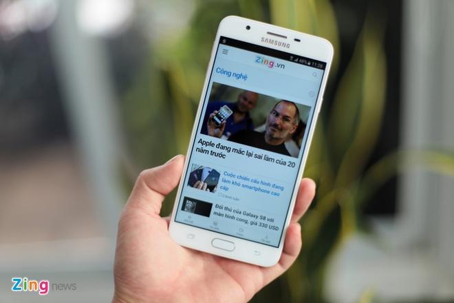 Anh Samsung Galaxy J7 Prime mau hong vua len ke tai VN hinh anh 10