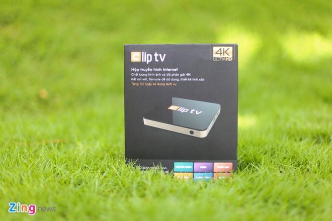 Mo hop Clip TV Box gia 1,8 trieu dong hinh anh 1