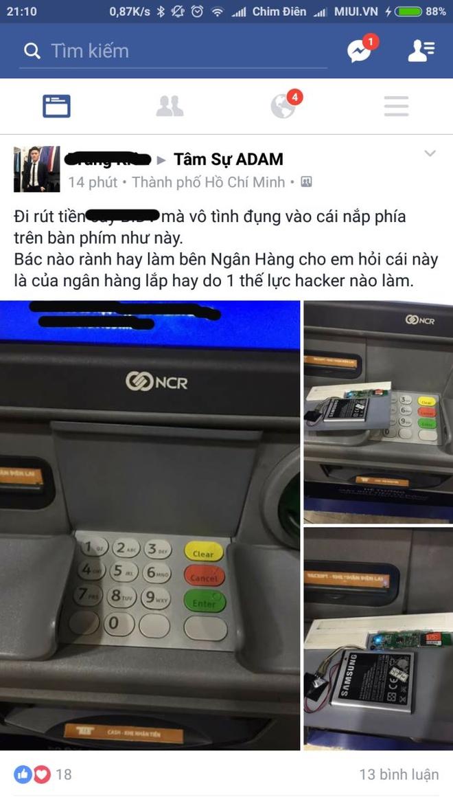 Phat hien thiet bi la duoc gan tai tram ATM hinh anh 2