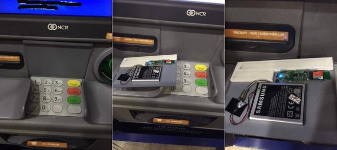 Phat hien thiet bi la duoc gan tai tram ATM hinh anh 1