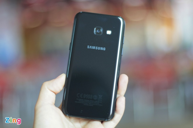 Danh gia Samsung Galaxy A3 2017 anh 2