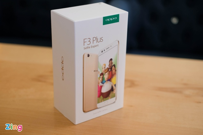 Anh thuc te Oppo F3 Plus: Camera selfie kep goc rong 120 do hinh anh 1
