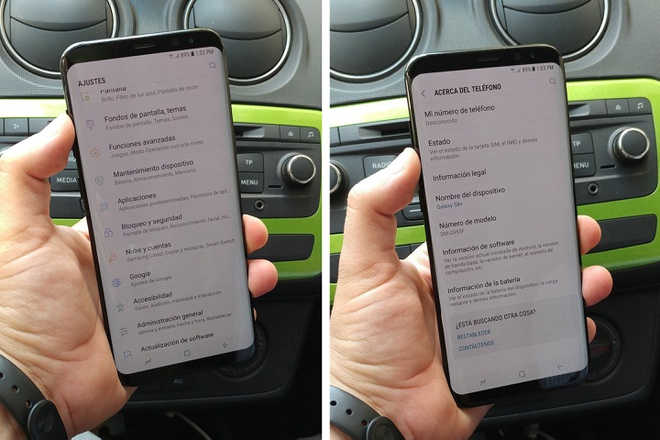 Samsung Galaxy S8 Plus anh 2