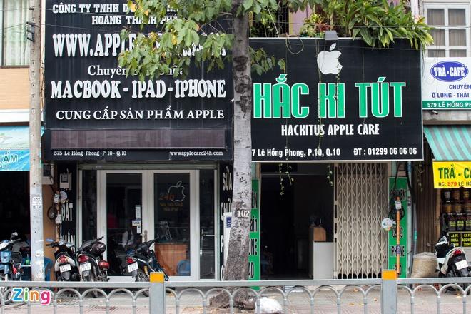 Nhieu cua hang ha logo Apple, tam dung kinh doanh iPhone hinh anh 3