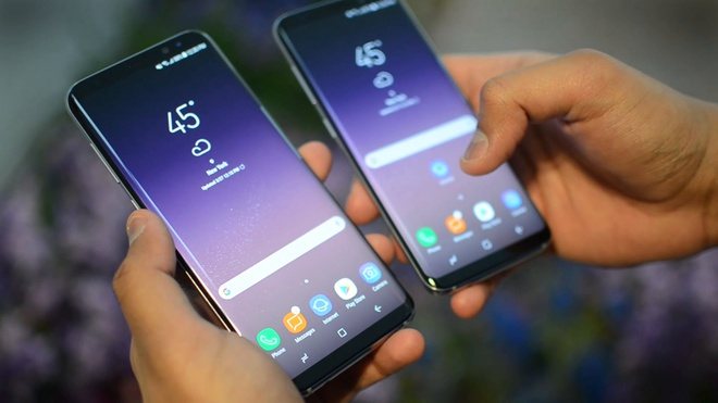 Vi sao Galaxy S8 dung man hinh vo cuc? hinh anh 1