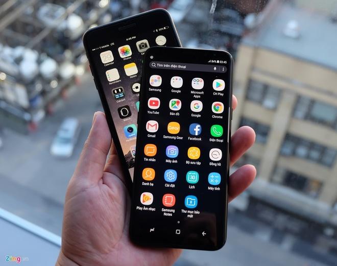 Vi sao Galaxy S8 dung man hinh vo cuc? hinh anh 2