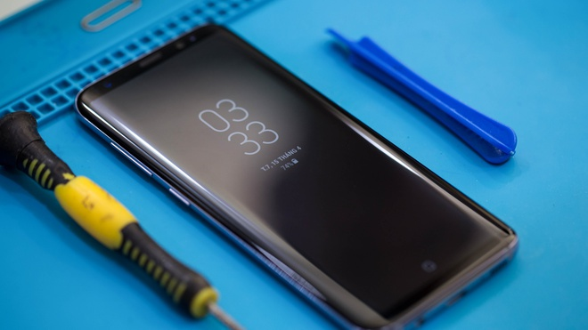 Thao Samsung Galaxy S8 anh 1