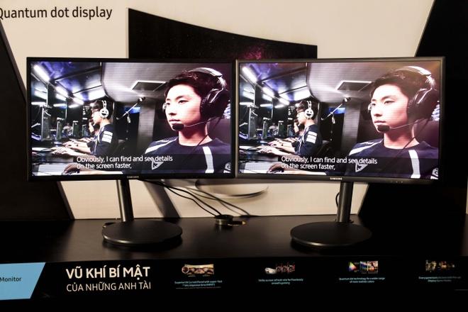 Samsung ra mat man hinh cong chuyen choi game o VN hinh anh 1