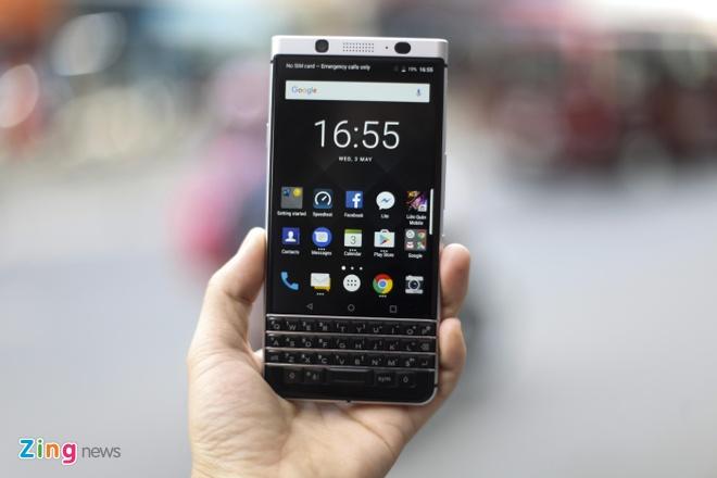 BlackBerry KeyOne ve Viet Nam voi gia 19 trieu dong hinh anh