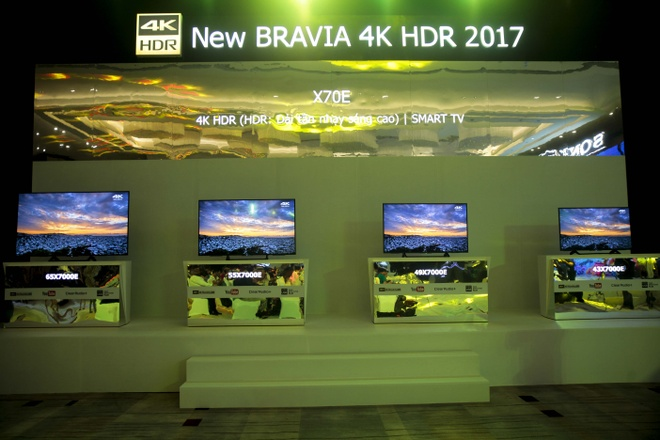 Sony dem loat TV 4K HDR cao cap ve Viet Nam hinh anh 3