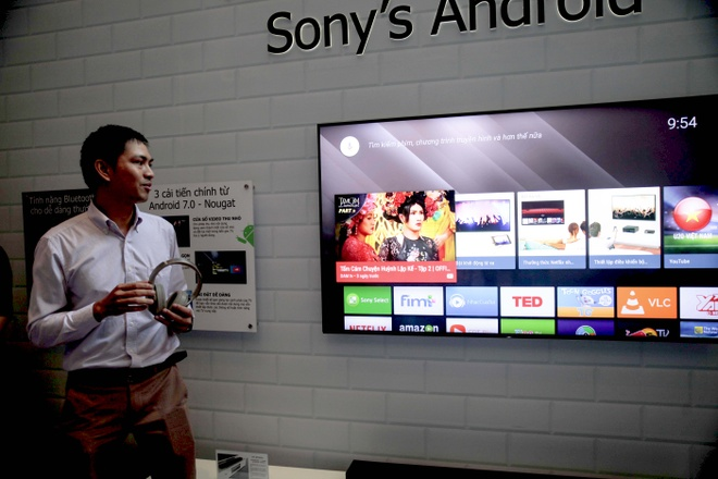 Sony dem loat TV 4K HDR cao cap ve Viet Nam hinh anh 2