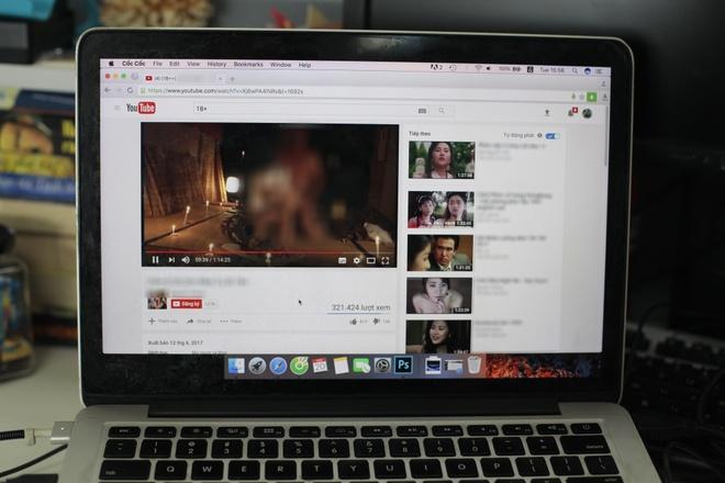 YouTube Viet Nam tran ngap video 18+, nghi bi loi bo loc hinh anh 1