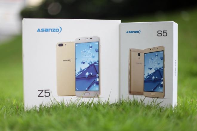 Mo hop Asanzo S5 va Z5: smartphone gia tu 2,9 trieu dong hinh anh