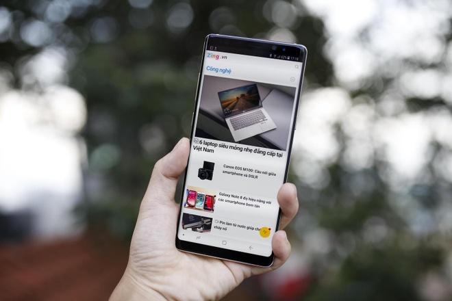 Loan gia Samsung Galaxy Note 8 truoc ngay ra mat tai VN hinh anh