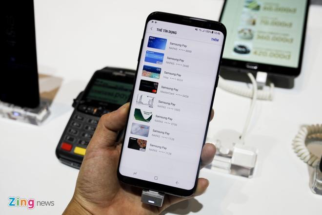 Samsung Pay ve Viet Nam, ho tro thanh toan bang mong mat hinh anh 1