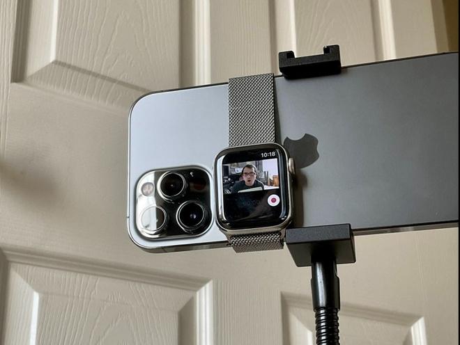 iPhone,  Apple Watch,  camera,  quay video,  quay vlog anh 2