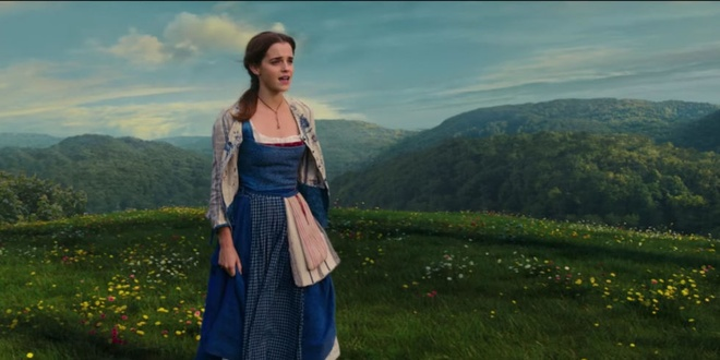 Emma Watson khoe giong cao vut trong 'Beauty and the Beast' hinh anh