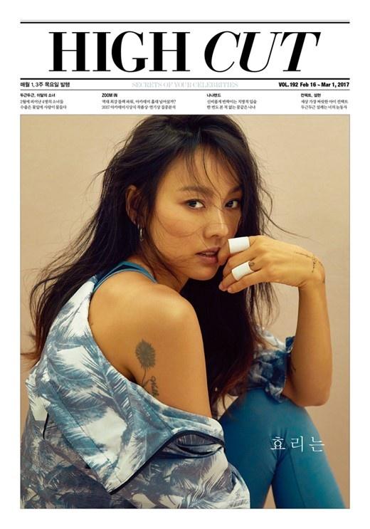 Lee Hyori quyen ru khoe hinh xam tren tap chi hinh anh 1