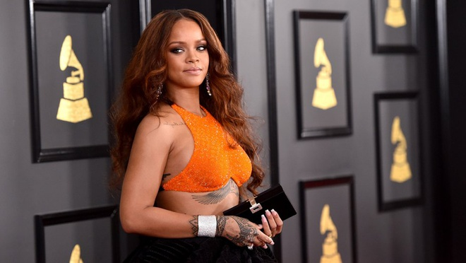 Rihanna nhan giai thuong nhan dao cua Dai hoc Harvard hinh anh