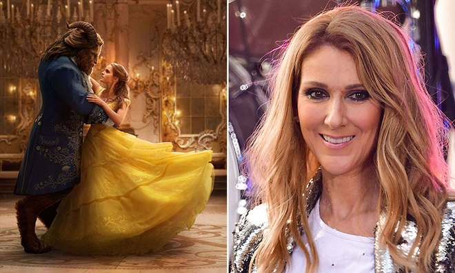 Celine Dion khoe giong diva trong phim 'Beauty and the Beast' hinh anh 1