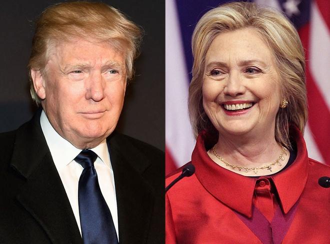 Tom Hanks san xuat phim ve Donald Trump va Hillary Clinton hinh anh