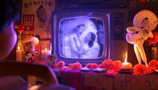 Pixar tung teaser bi an ve bom tan hoat hinh moi 'Coco' hinh anh 2