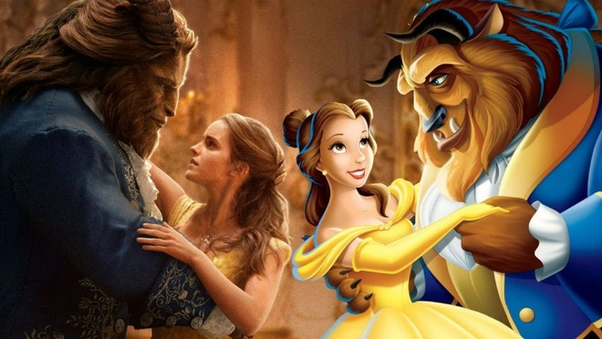 Nhung canh phim giong het giua hai phien ban 'Beauty and the Beast' hinh anh