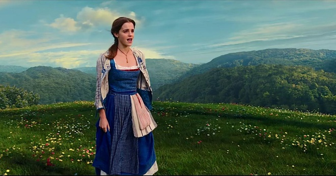 Thoi trang cua Emma Watson trong 'Beauty and the Beast' hinh anh