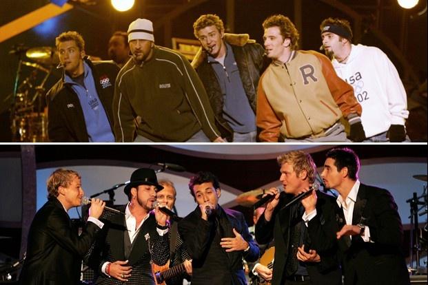 Backstreet Boys tai hop doi thu NSYNC sau gan 20 nam hinh anh