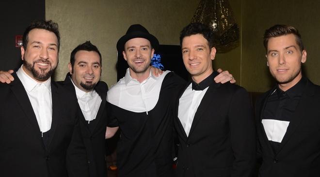 Backstreet Boys tai hop NSYNC anh 2
