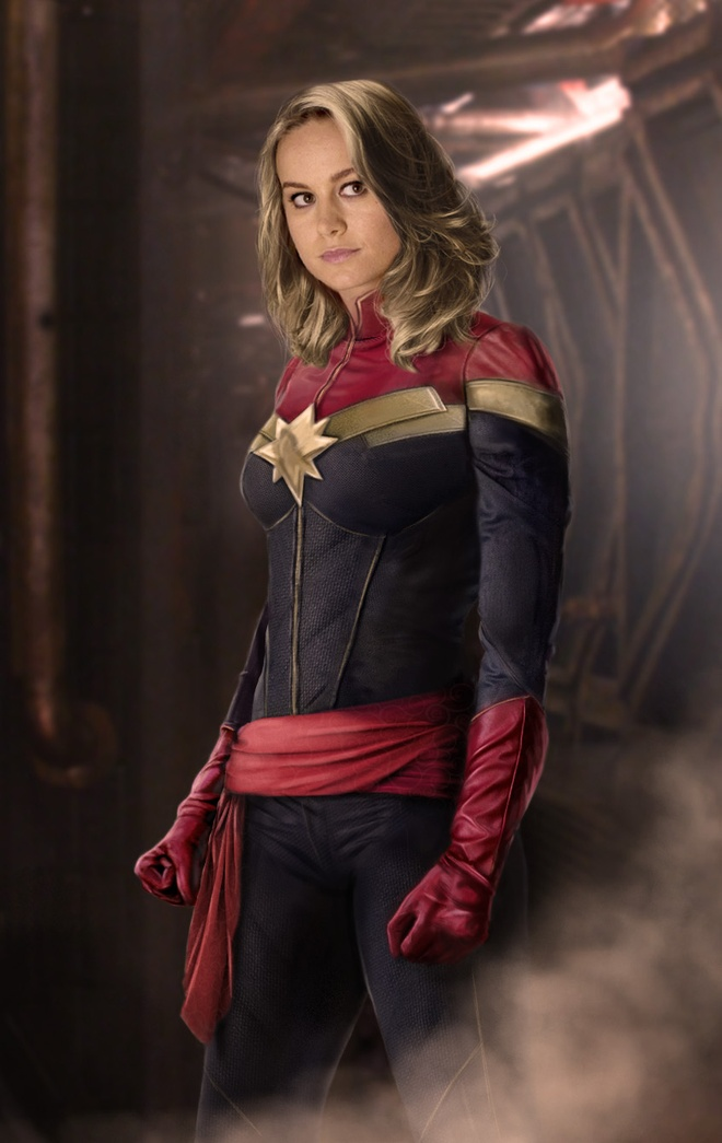 Brie Larson dong Captain Marvel anh 2