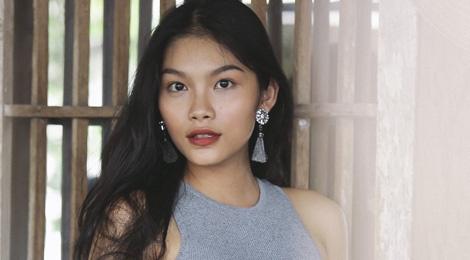 Con gai Kieu Trinh: Co gai 20 tuoi toa sang nhat o The Face Online hinh anh