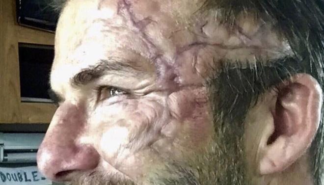 David Beckham hoa trang kinh di trong phim moi hinh anh