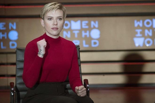 Scarlett Johansson chi trich Ivanka Trump anh 1
