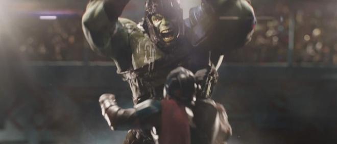 'Thor: Ragnarok' ra mat trailer dau tien: Than Sam dung do Hulk hinh anh 4